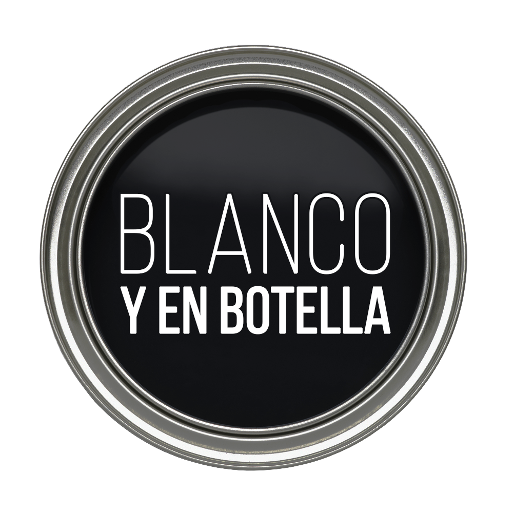 Blanco y en botella