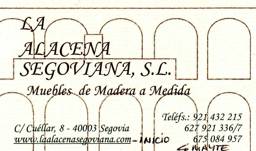 La Alacena Segoviana S.L.