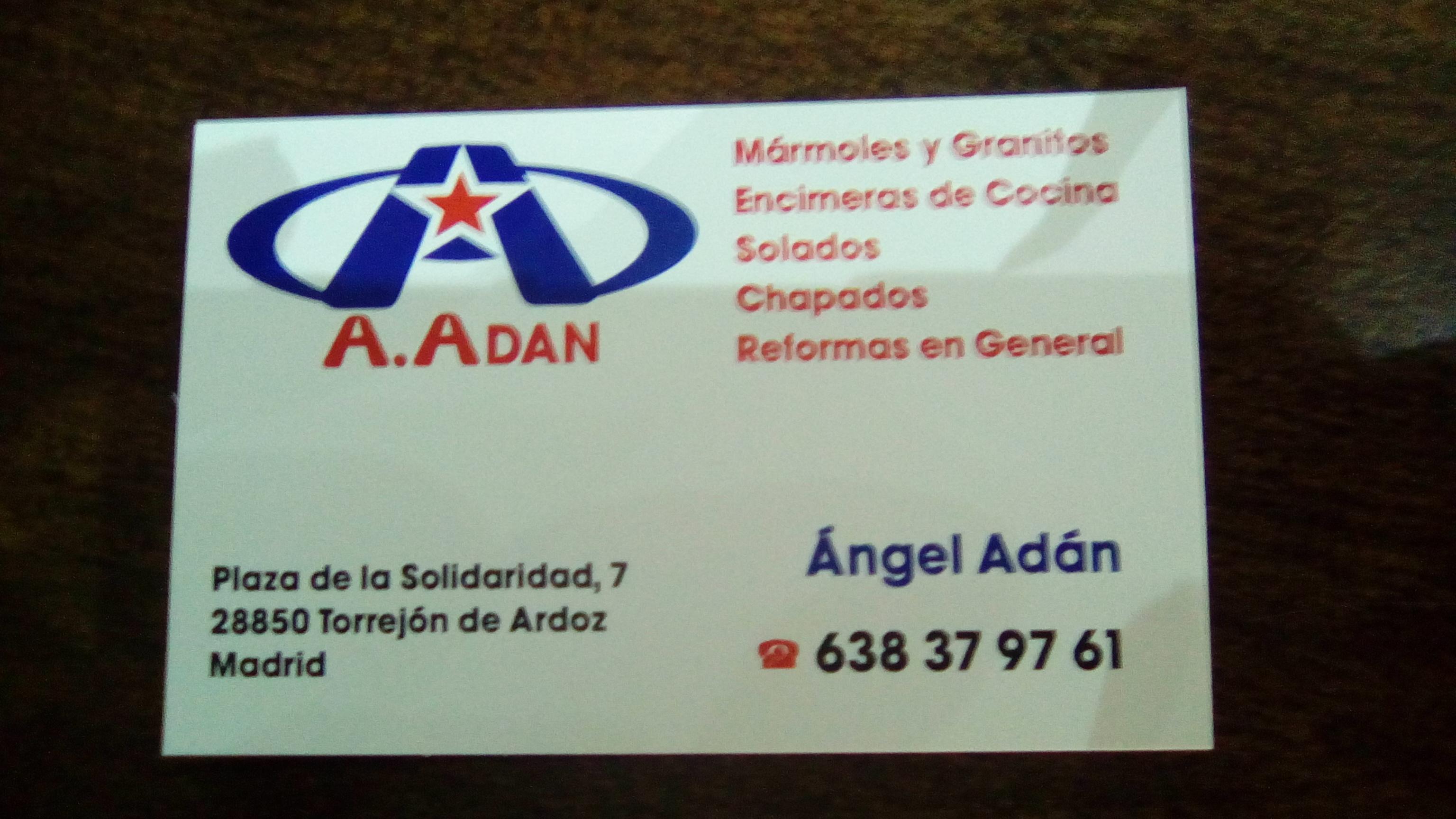 Marmoles Adan Sa