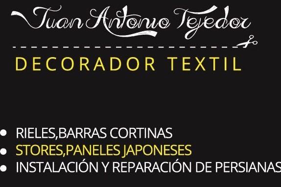 Instalador Textil; Rieles, Barras, Estores, Paneles Japoneses, Etc