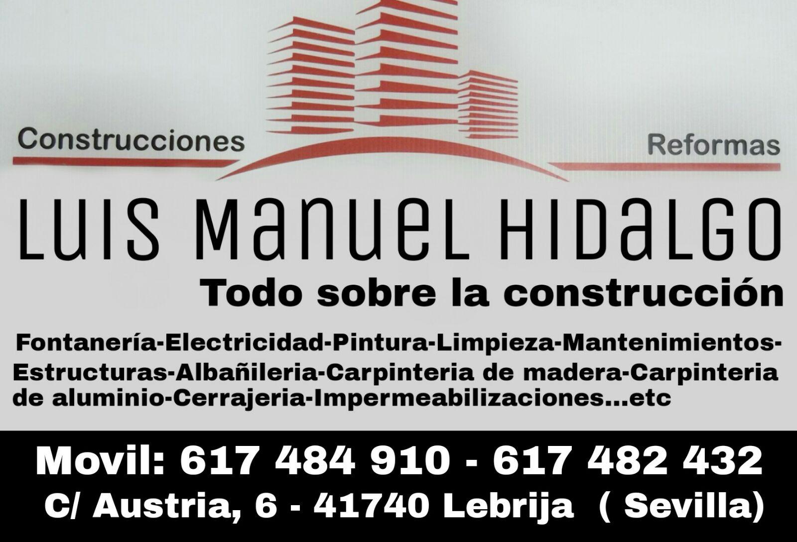 Construcciones Y Reformas Luis Manuel Hidalgo