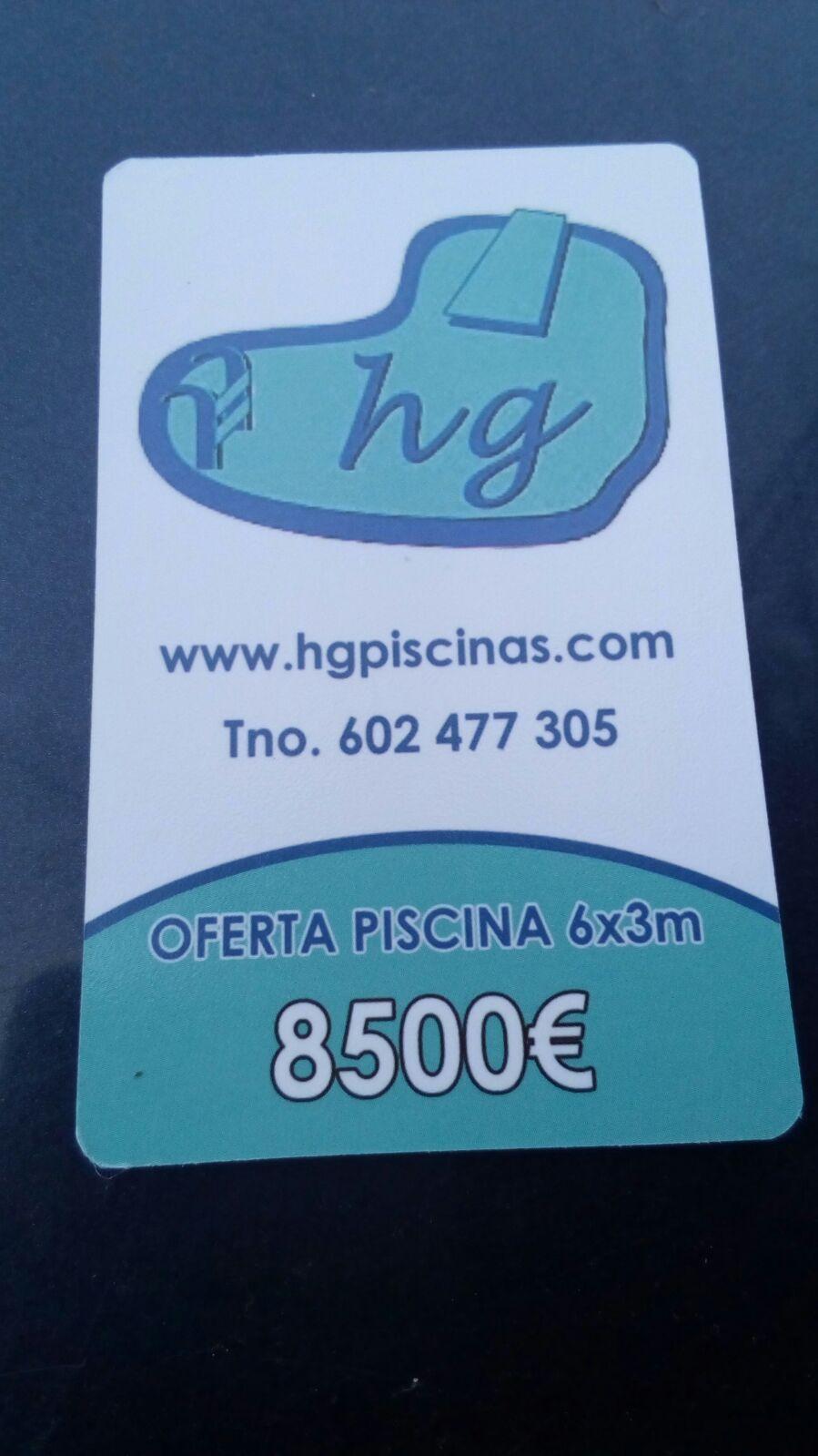 Piscinas Hg