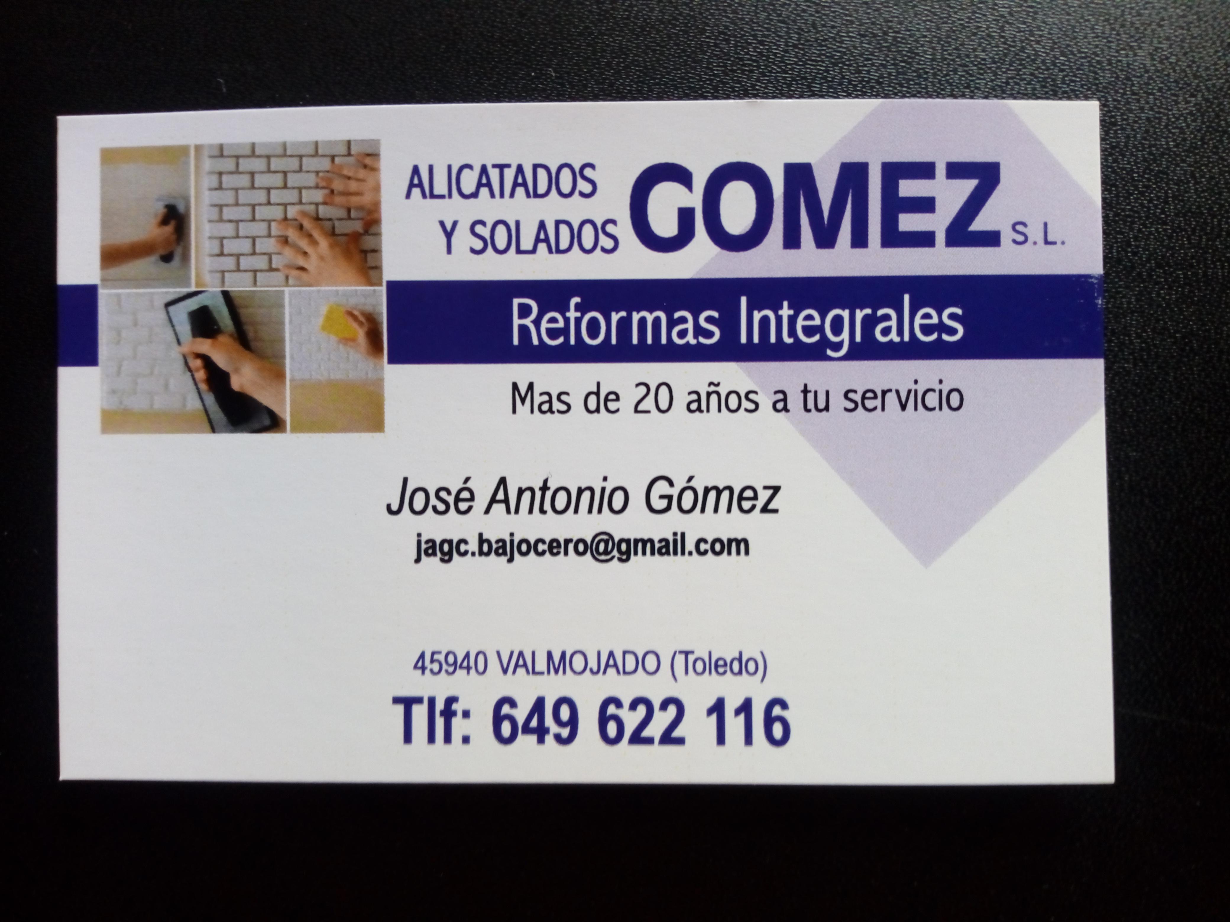 Alicatados Y Solados Gómez