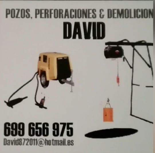 Pozos Perforaciones Y Demoliciones David