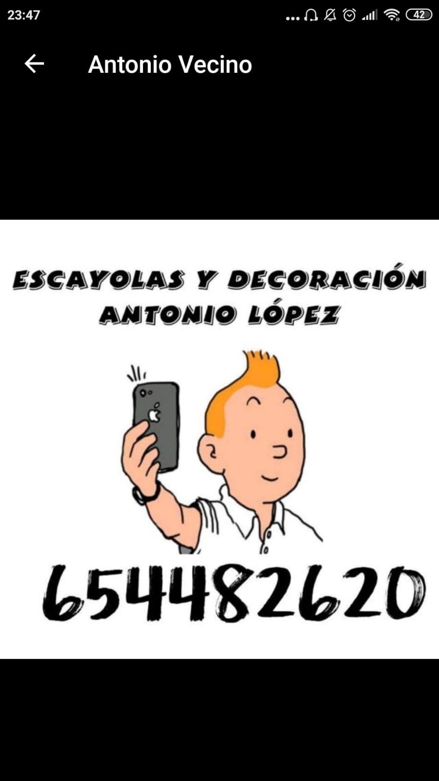 Escayolas Y Decoración Antonio Lopez