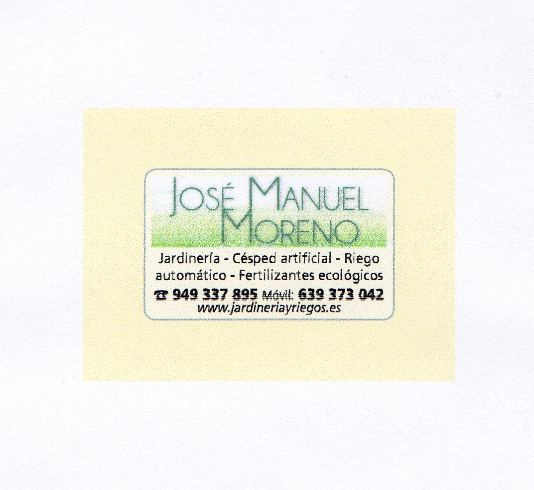 Jardineria Jose Manuel Moreno
