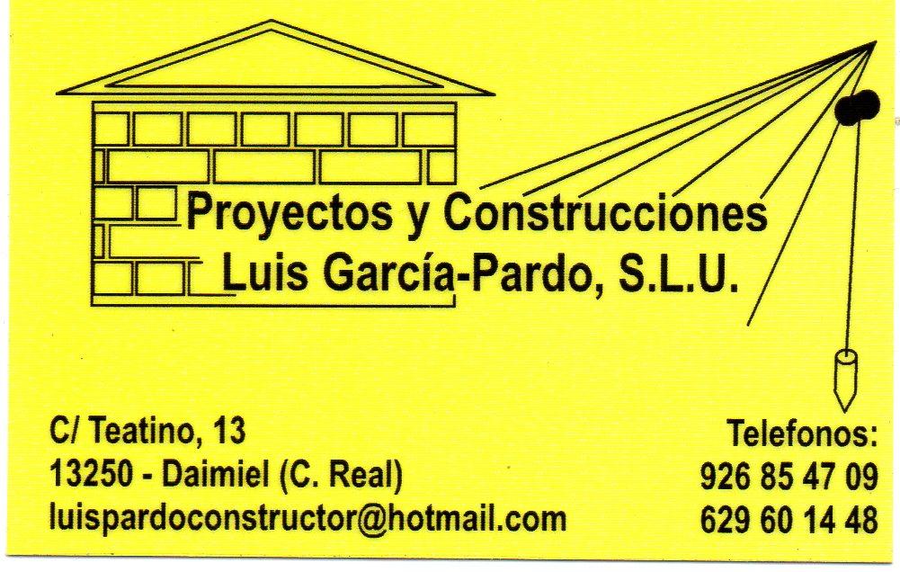 Proyectos Y Construcciones Luis Garcia Pardo. S.l.u.