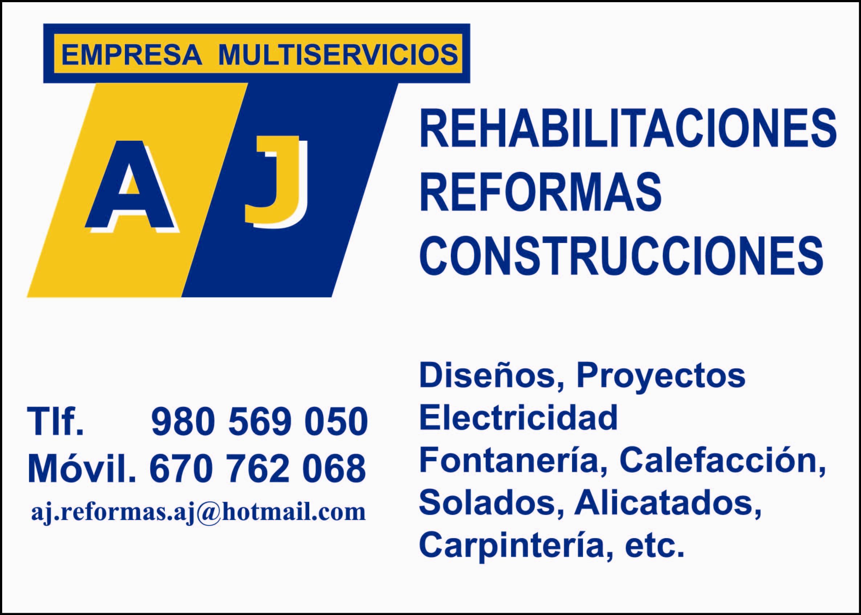 Rehabilitacion Reforma Y Construccion Aj S.l.