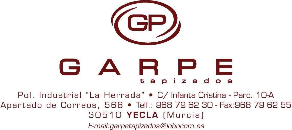 Garpe Tapizados, S.L.