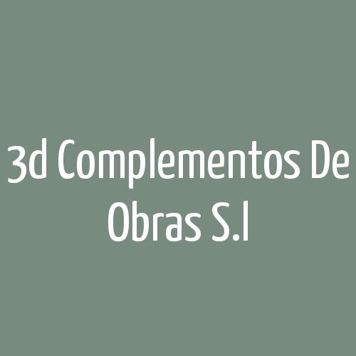3d Complementos De Obras S.L.