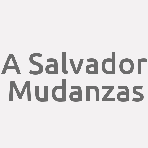 A Salvador Mudanzas