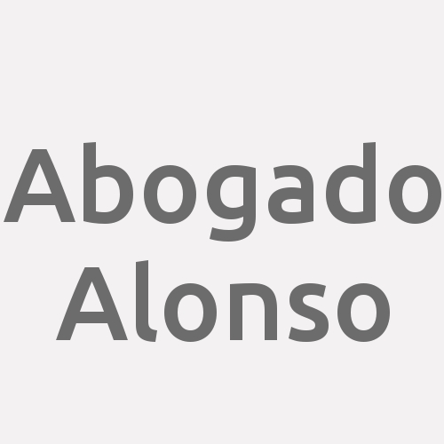 Abogado Alonso