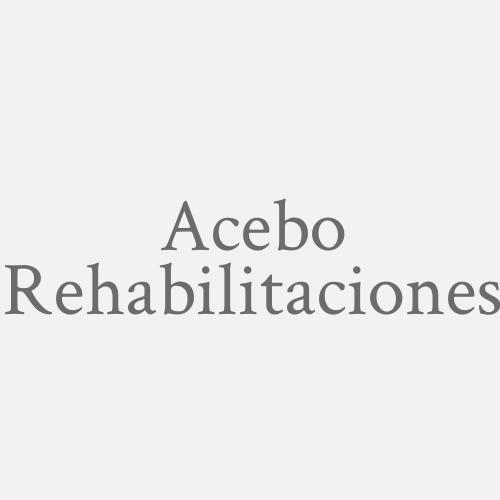 Acebo Rehabilitaciones