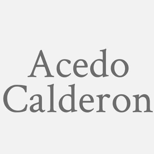 Acedo Calderon