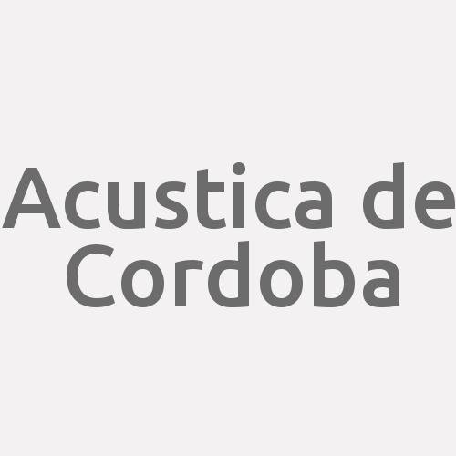 Acustica de Cordoba