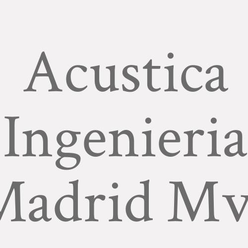 Acustica Ingenieria Madrid M.v.f.