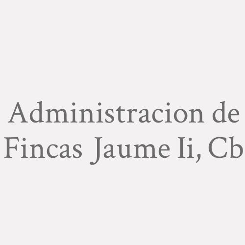 Administracion De Fincas Jaume Ii, C.b.
