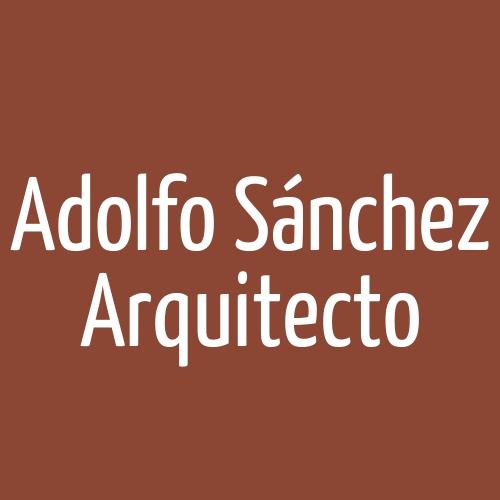 Adolfo Sánchez Arquitecto