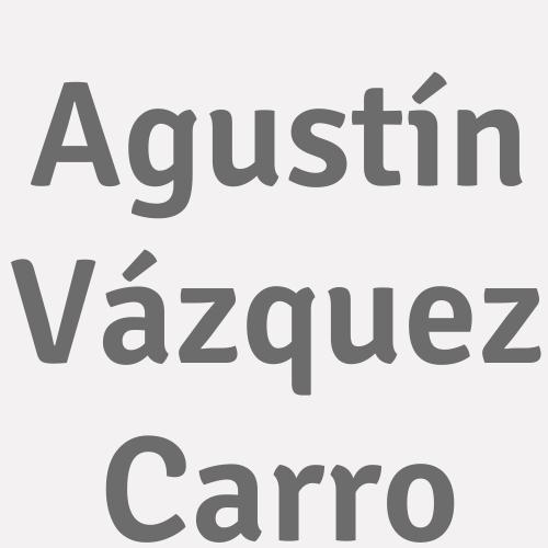 Agustín Vázquez Carro