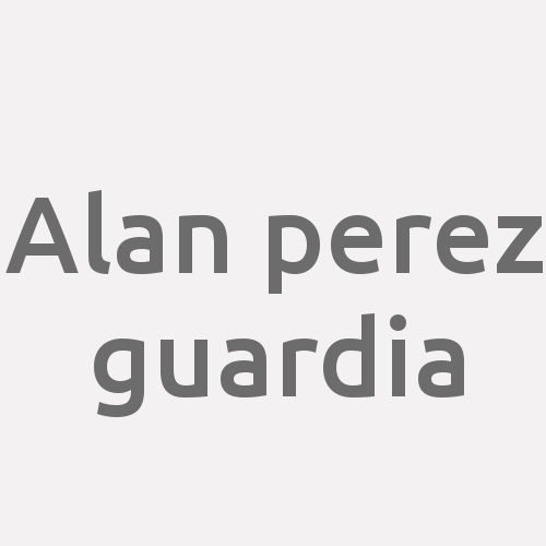Alan Perez Guardia
