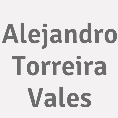 Alejandro Torreira Vales