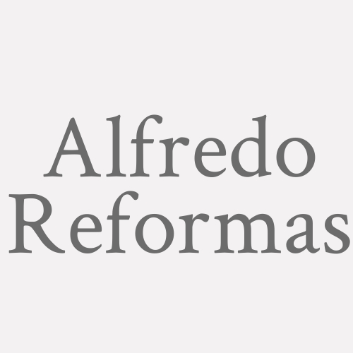 Alfredo Reformas