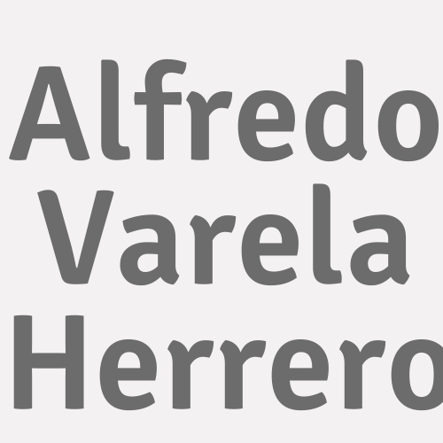 Alfredo Varela Herrero