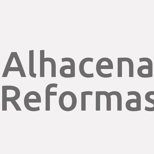 Alhacena Reformas