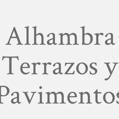 Alhambra Terrazos y Pavimentos
