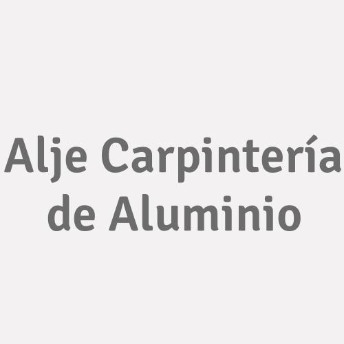 Alje Carpintería de Aluminio