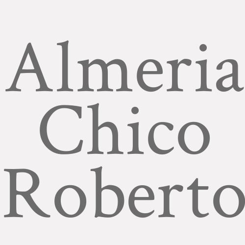 Roberto Almeria Chico