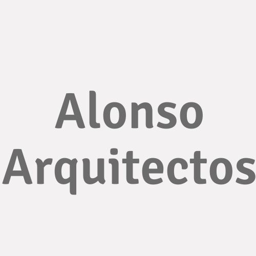 Alonso Arquitectos
