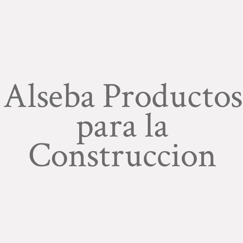 Alseba Productos Para La Construcción