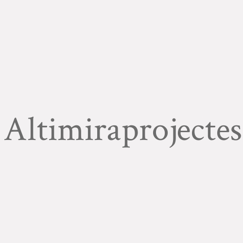 Altimiraprojectes