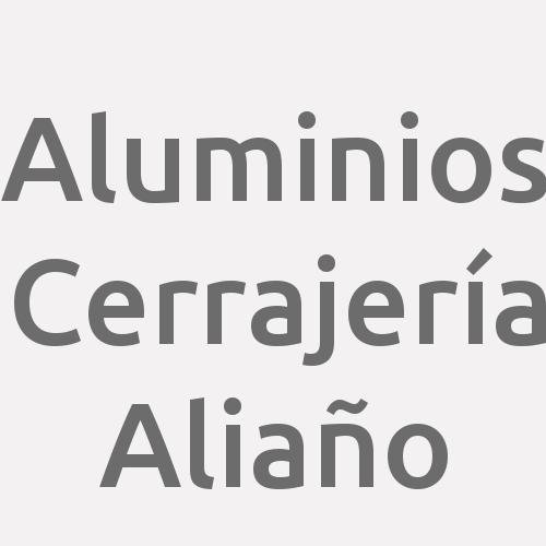 Aluminios Cerrajería Aliaño