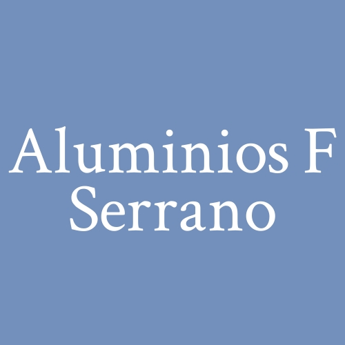 Aluminios F Serrano