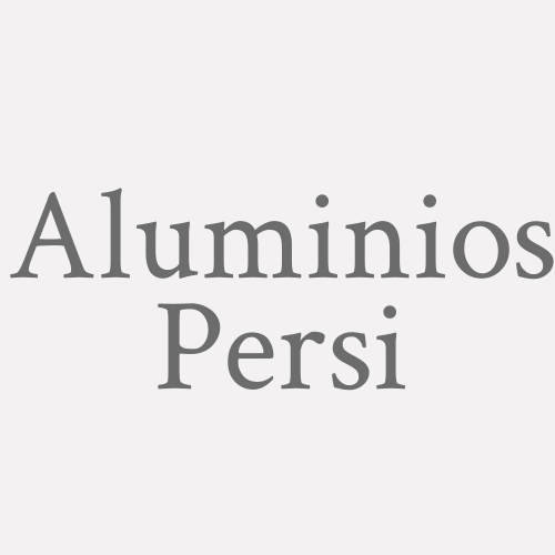 Aluminios Persi
