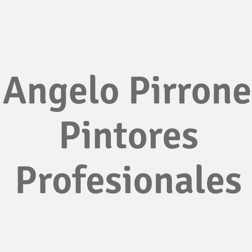 Angelo Pirrone Pintores Profesionales
