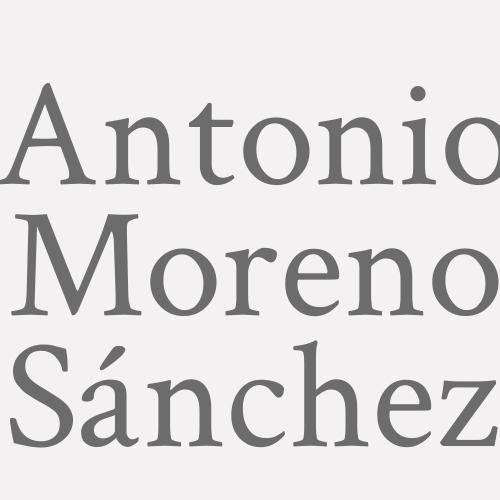 Antonio Moreno Sánchez