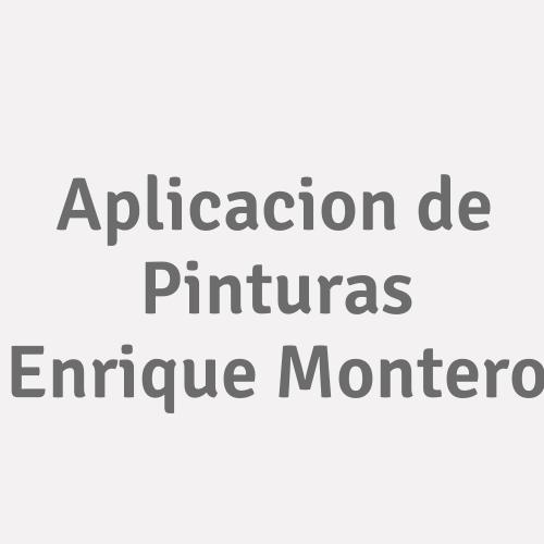 Aplicacion De Pinturas Enrique Montero