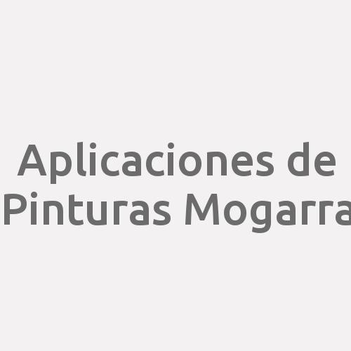 Aplicaciones de Pinturas Mogarra