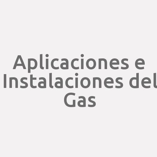 Aplicaciones e Instalaciones del Gas