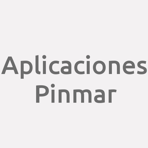 Aplicaciones Pinmar