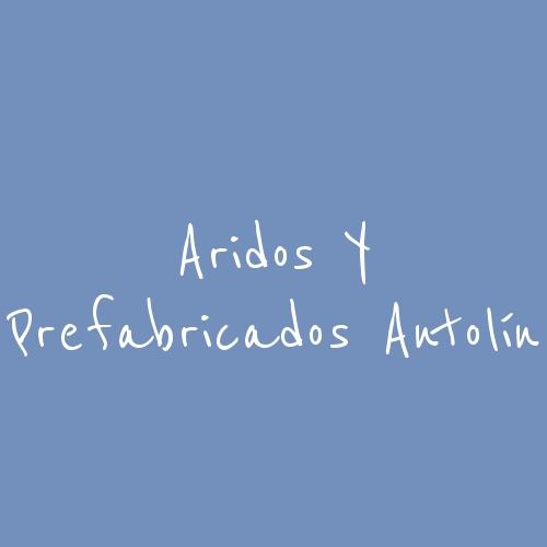 Aridos y Prefabricados Antolín