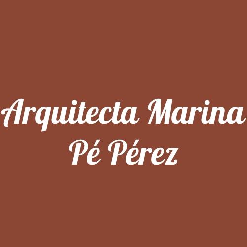 Arquitecta Marina Pé Pérez