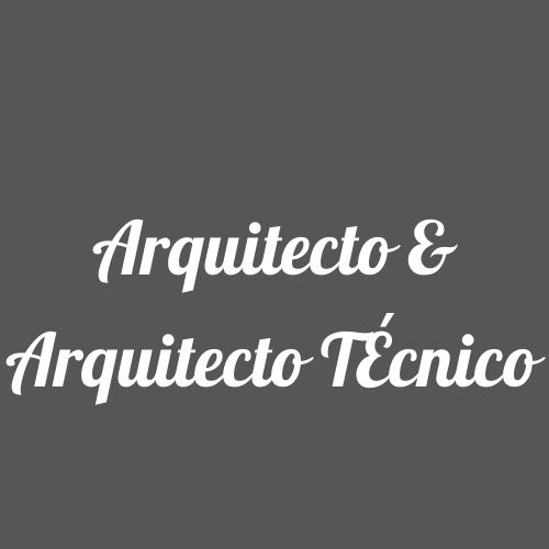 Arquitecto & Arquitecto Técnico