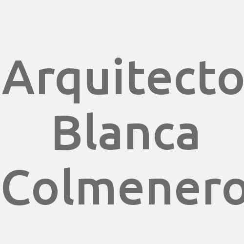 Arquitecto Blanca Colmenero