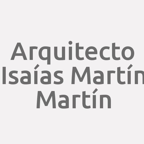 Arquitecto Isaías Martín Martín