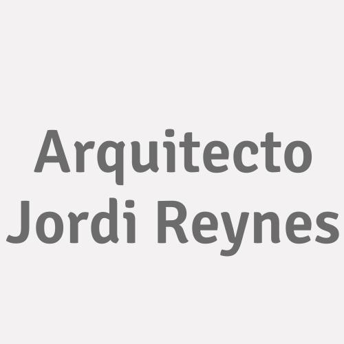 Arquitecto Jordi Reynes