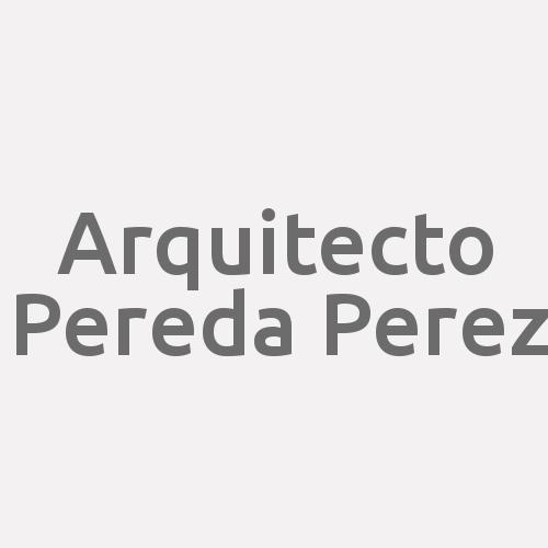 Arquitecto Pereda Perez
